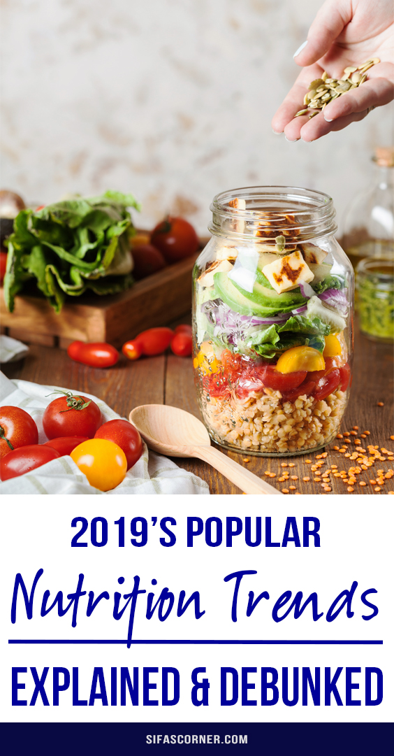 nutrition trends, healthy foods
