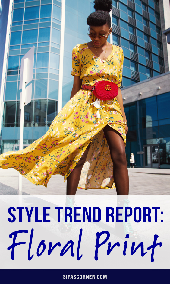 Floral Style Trends in fashion