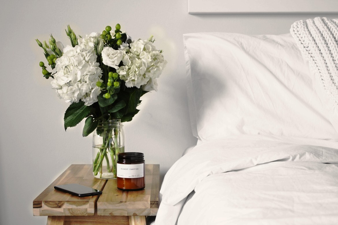 How to Get Your Beauty Sleep-bed side