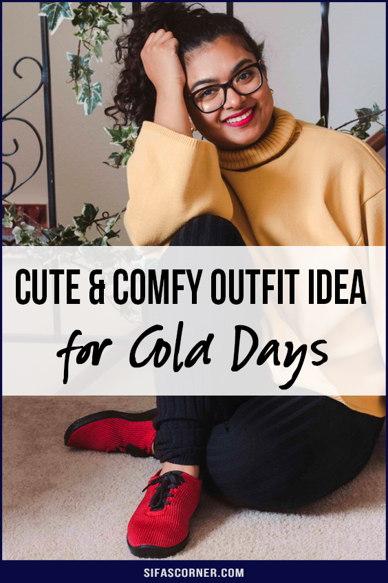 cute comfy outfit ideas for cold days