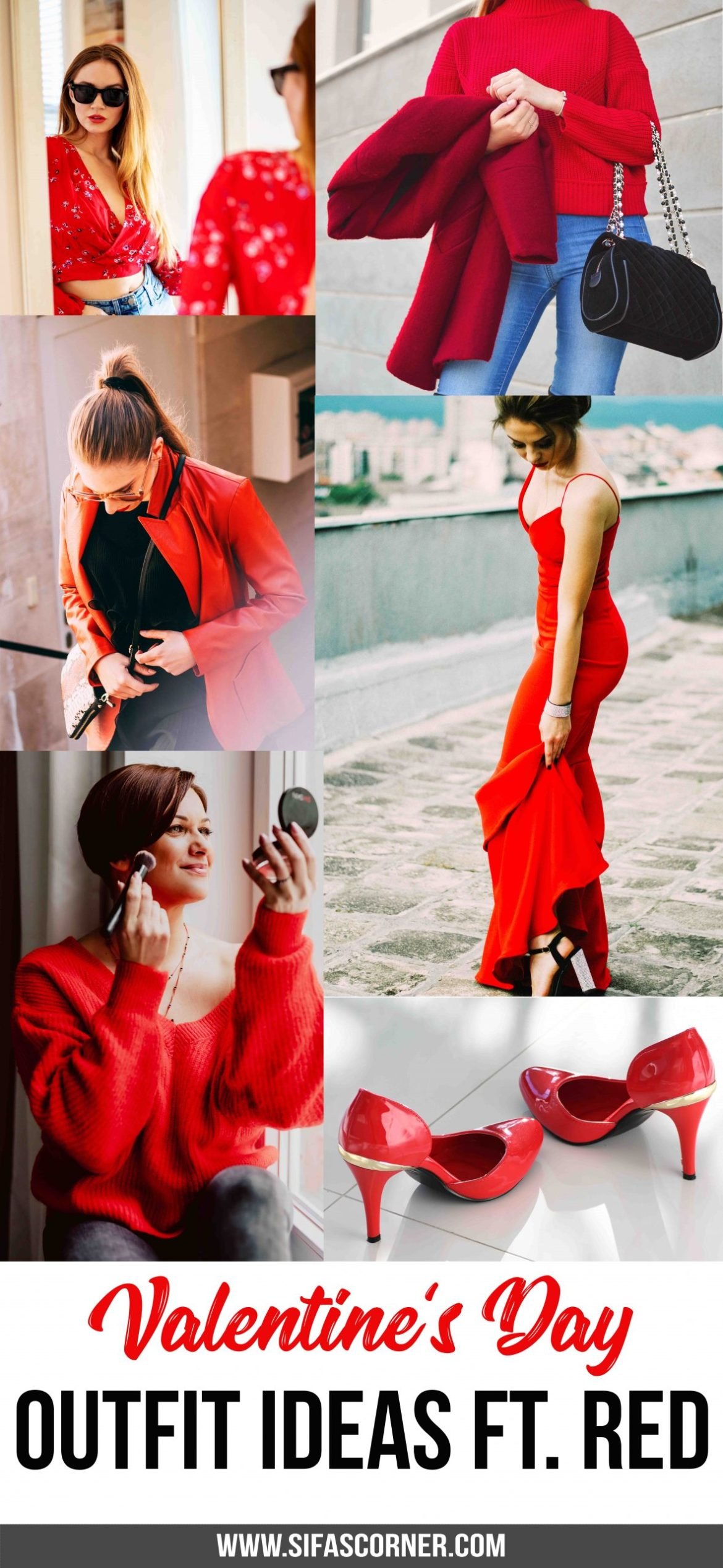 Red Outfit Ideas for Valentine's Day