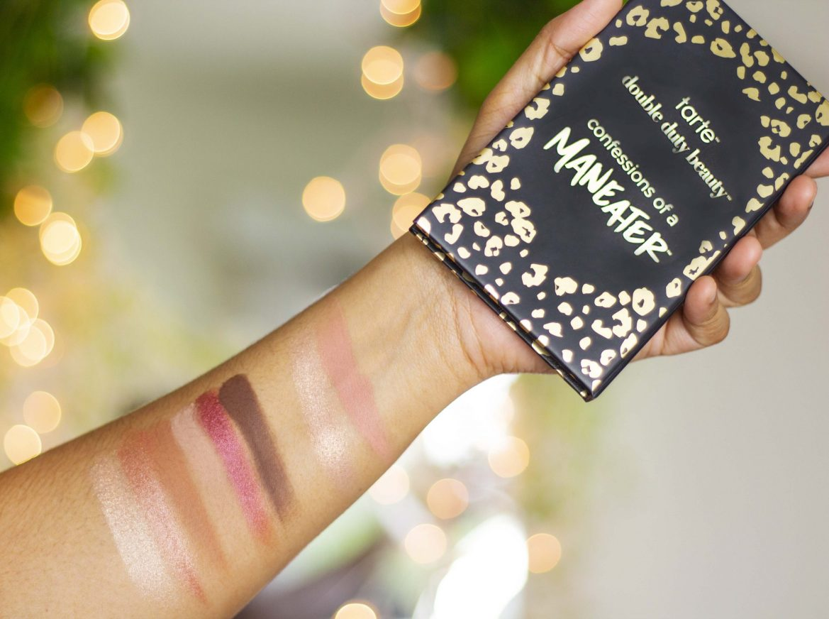 Tarte Maneater Palette review swatch