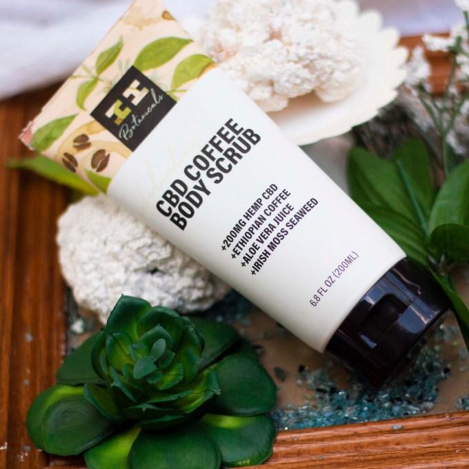 I+I Botanicals CBD Coffee Body Scrub