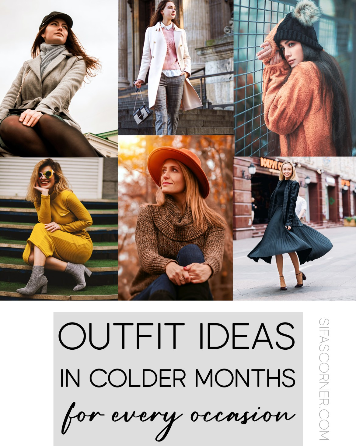 Outfit Ideas for Colder Months
