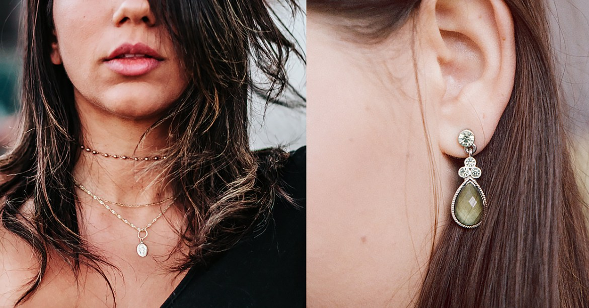 jewelry for heart shaped face
