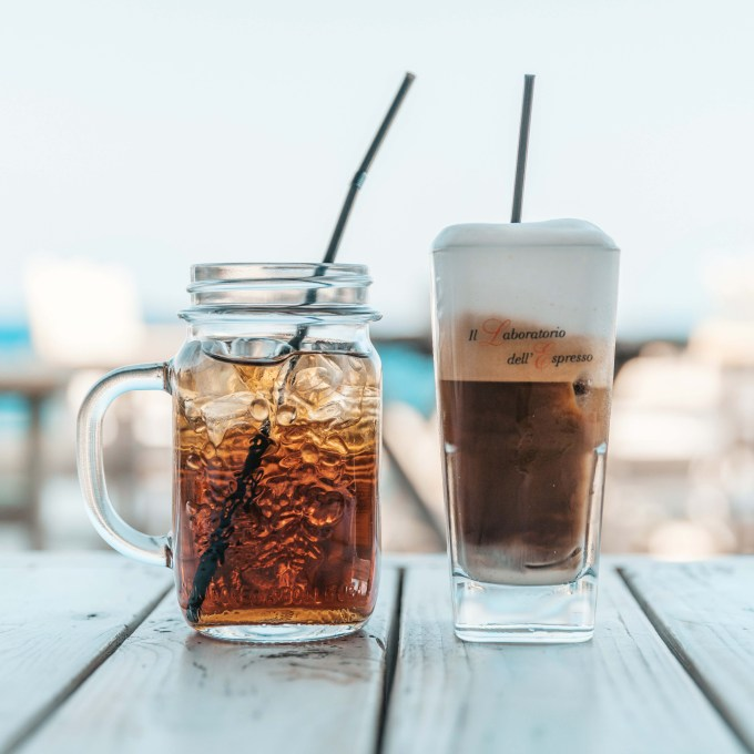 cold tea and cold coffee for summer
