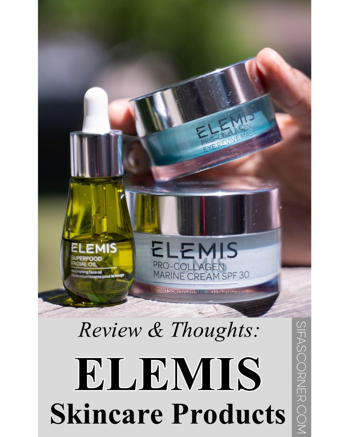 Luxury Skincare ELEMIS review