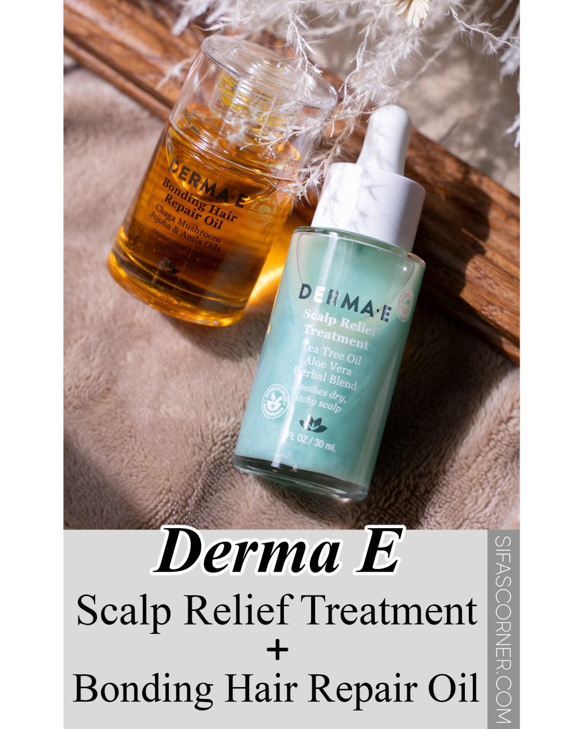 Derma E Scalp Relief Treatment & Hair Repair Oil