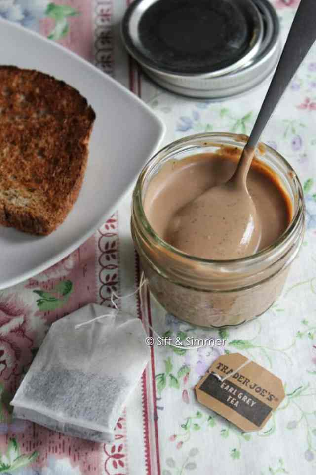 Earl Grey Milk Jam Spread