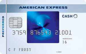 Blue Cash Pre?ferred card from American Express
