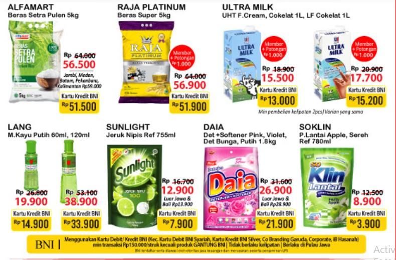 Promo JSM Alfamart Gantung