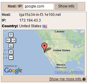 server ip address google
