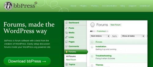 bbPress WordPress forum