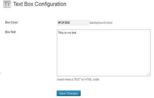 Stellissimo Text Box