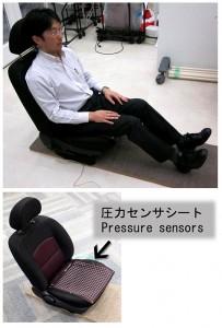 Car Seat with sensor ID