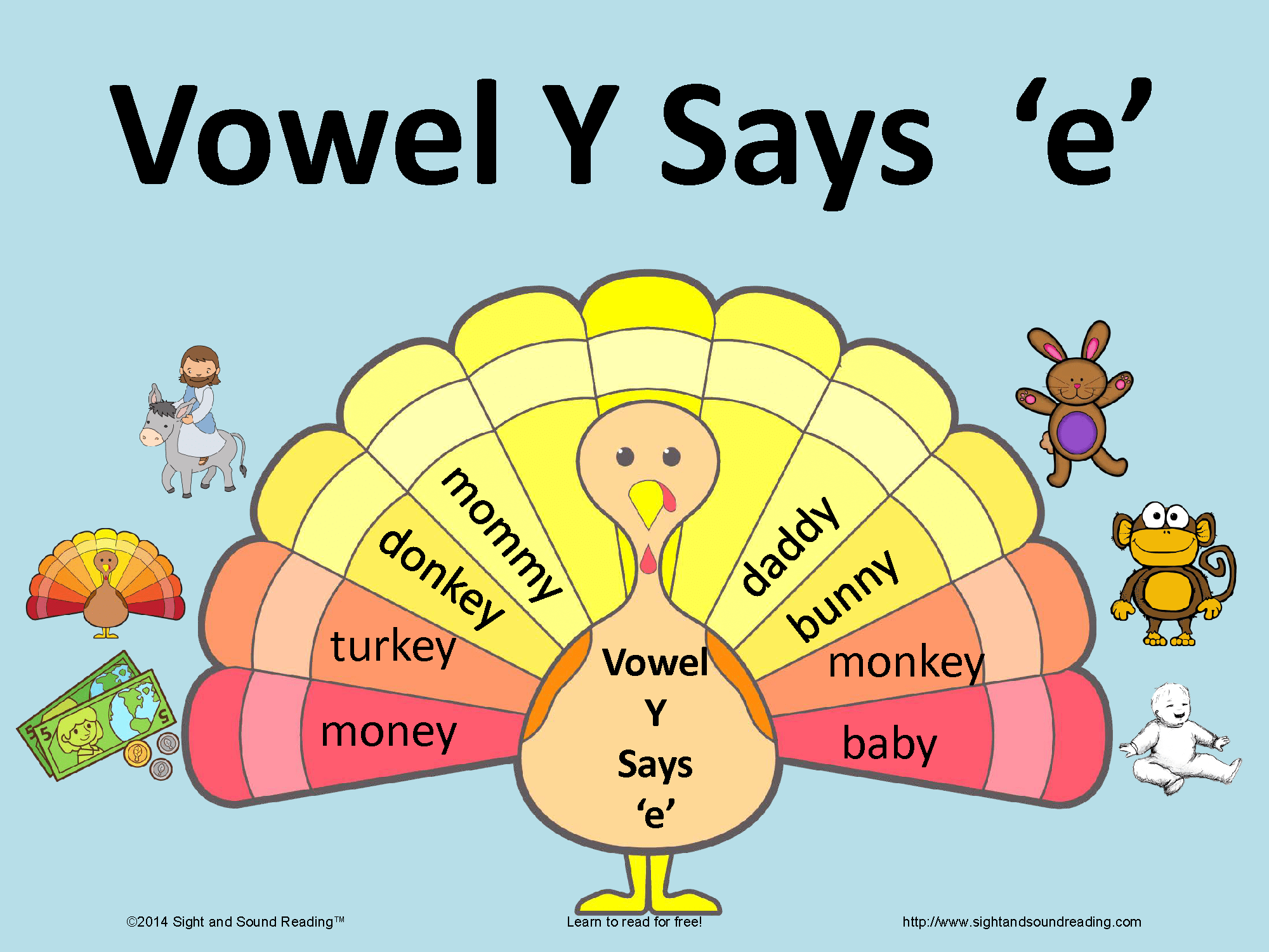 Fun Activity To Help Teach The Vowel Y Making The Long E