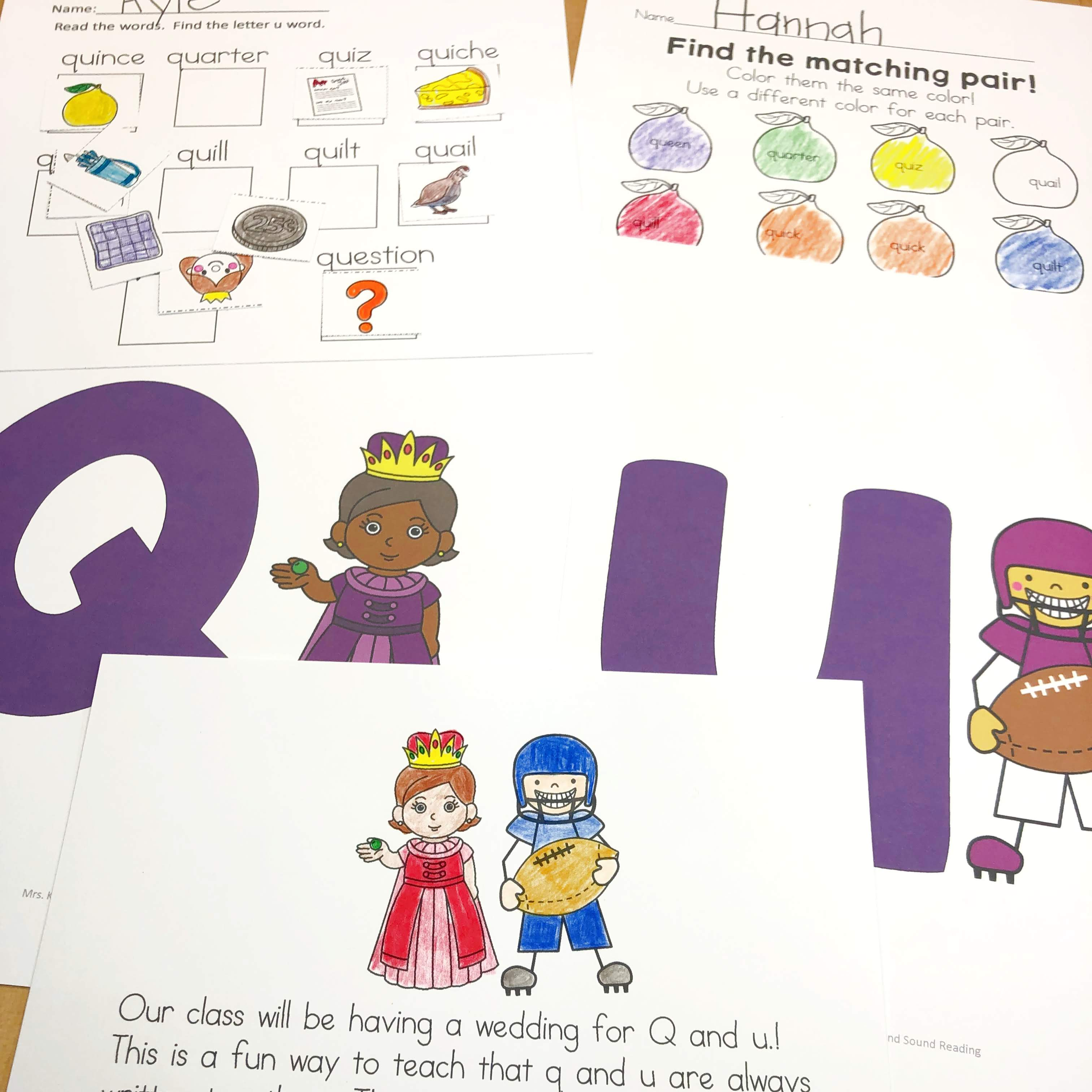Q And U Wedding Invitations Vows Activities And Crowns