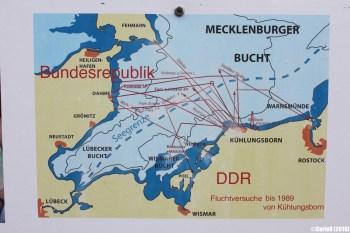 Kuhlungsborn Innerdeutsche Grenze Inner Border See Sea