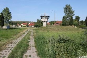 Hotensleben Innerdeutsche Grenze Inner Border Checkpoint
