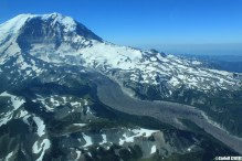 Mount Rainier Washington State Fly Seattle Scenic Cessna 210
