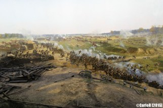 Museum-Panorama The Battle of Borodino Napoleon War Moscow