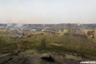 Museum-Panorama The Battle of Borodino Napoleon War Moscow