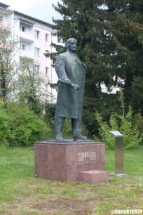 Riesa - Soviet Monument Lenin
