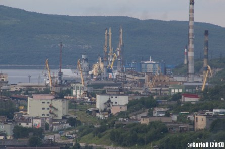 Murmansk Admiral Kuznetzov Aircraft Carrier