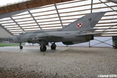MiG-21 Fishbed Polish Air Force
