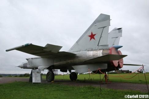MiG-25 Foxbat Red Army Tartu Estonia