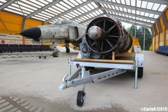McDonnell Douglas F-4 Phantom with J79 engine