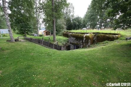 Salpa Line Puumala Machine Gun Bunker