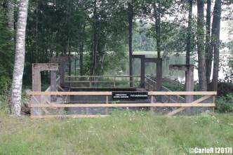 Salpa Line Lake Kivijärvi Dam