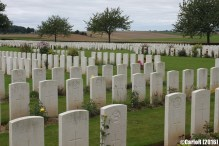 London Cemetery and Extension Longueval Somme WWI