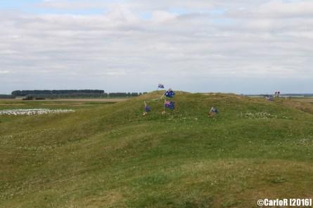 Australian Memorial Pozieres Somme WWI