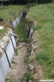 Auchonvillers Trenches Somme WWI