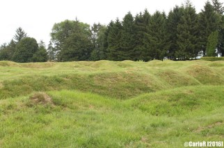 Newfoundland Trenches and Memorial Beaumont-Hamel Canada Somme WWI
