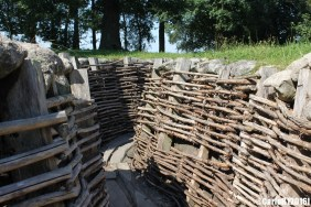 German Trenches Bayernwald Heuvelland Ypres WWI