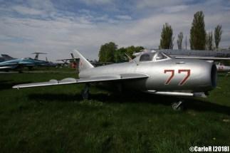 State Aviation Museum Ukraine Kiev MiG-17
