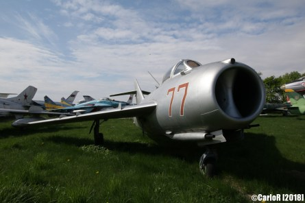 State Aviation Museum Ukraine Kiev MiG-17