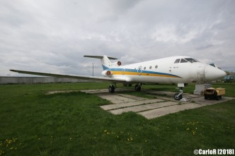 State Aviation Museum Ukraine Kiev Yakovlev Yak-40