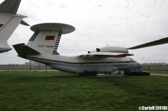 State Aviation Museum Ukraine Kiev Antonov An-71