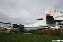 State Aviation Museum Ukraine Kiev Antonov An-30