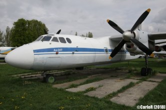State Aviation Museum Ukraine Kiev Antonov An-24