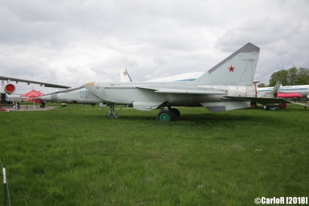 State Aviation Museum Ukraine Kiev MiG-25