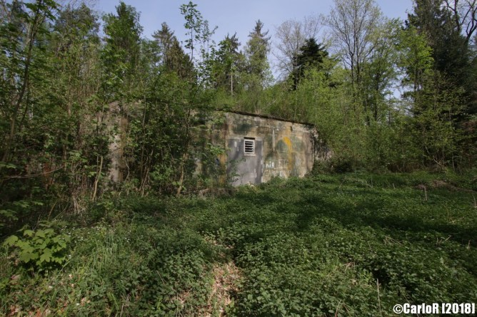 Quick Reaction Alert QRA Nuclear Atomic Weapons Pershing Warhead Storage Waldstetten Schwabisch Gmund US 41st Field Artillery Germany Abandoned Bunker