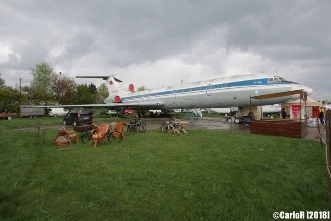 State Aviation Museum Ukraine Kiev Tupolev Tu-154
