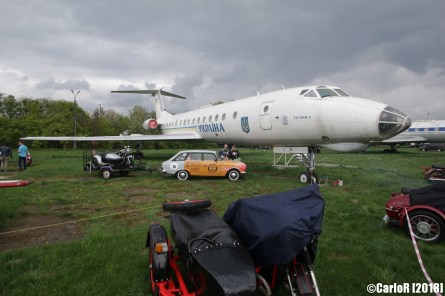 State Aviation Museum Ukraine Kiev Tupolev Tu-134