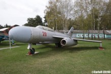 Museum of Aviation Technology Minsk Belarus Air Museum Yakovlev Yak-25