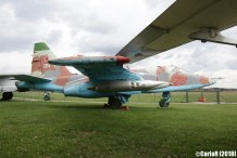 Museum of Aviation Technology Minsk Belarus Air Museum Sukhoi Su-25